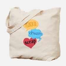 Scrapbooker Gift Tote Bag
