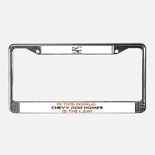 Cool Chevrolet License Plate Frame