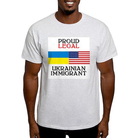Ukrainian Immigrant Ash Grey T-Shirt
