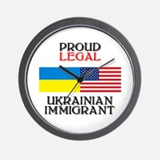 Ukrainian Immigrant Wall Clock