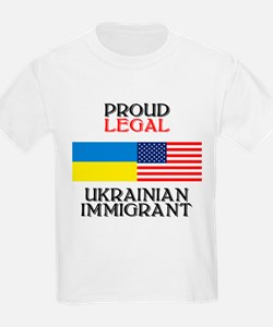 Ukrainian Immigrant Kids T-Shirt
