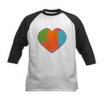 Heart Kids Baseball Jersey