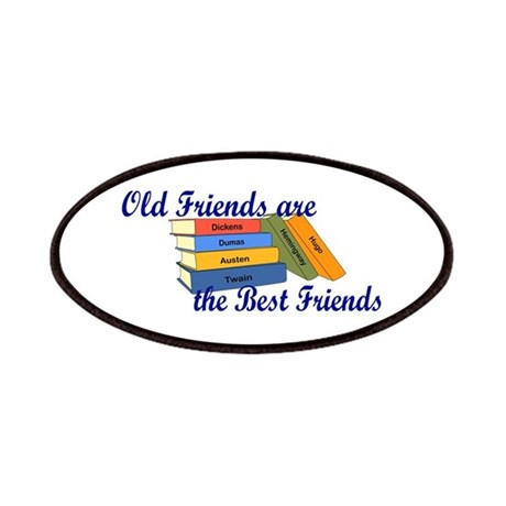 Books Best Friends Patches