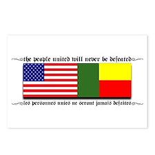 USA - Benin Unite! Postcards (Package of 8)