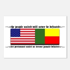 USA - Benin Unite! Postcards (Package of 8)