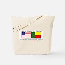 USA - Benin Unite! Tote Bag