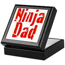 Ninja Dad Keepsake Box