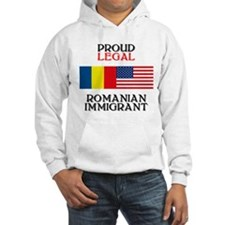 Romanian Immigrant Hoodie