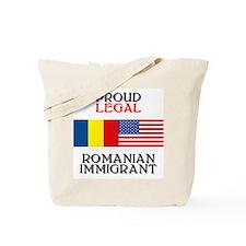 Romanian Immigrant Tote Bag