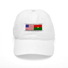 USA - Burkina Faso unite! Baseball Cap