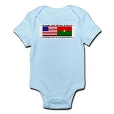 USA - Burkina Faso unite! Infant Creeper