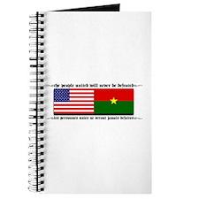 USA - Burkina Faso unite! Journal