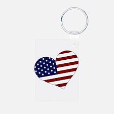 American Heart Keychains