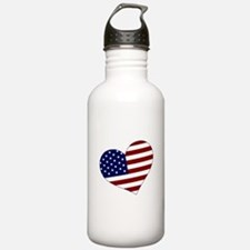 American Heart Water Bottle