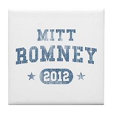 'Vintage' Mitt Romney Tile Coaster