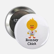 "Mitt Romney Chick 2.25"" Button"
