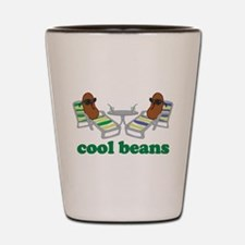 Cool Beans Shot Glass