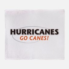 Hurricanes Throw Blanket