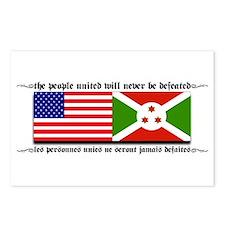 USA - Burundi Postcards (Package of 8)