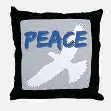 Peace Dove Throw Pillow