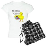 Quilting chick T-Shirt / Pajams Pants