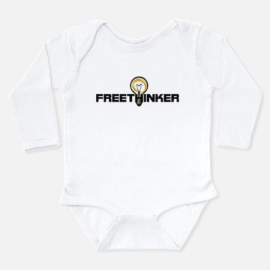 Freethinker Long Sleeve Infant Bodysuit