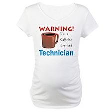 Caffeine Deprived Technician Shirt