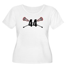 Lacrosse Number 44 T-Shirt