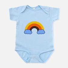 70s Rainbow Infant Bodysuit