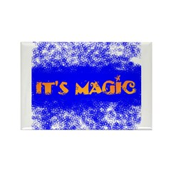 IT'S MAGIC Rectangle Magnet