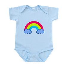 80s Rainbow Infant Bodysuit