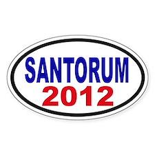 Rick Santorum 2012 Decal