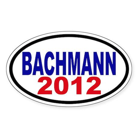Michele Bachman 2012 Sticker (Oval)