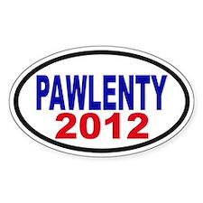 Tim Pawlenty 2012 Decal