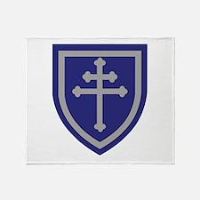 Cute Army infantry Throw Blanket