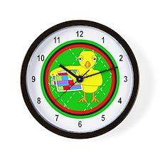Quilting Chick Circle Wall Clock