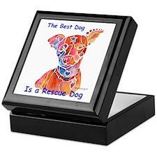 Adopt a Shelter Dog Keepsake Box