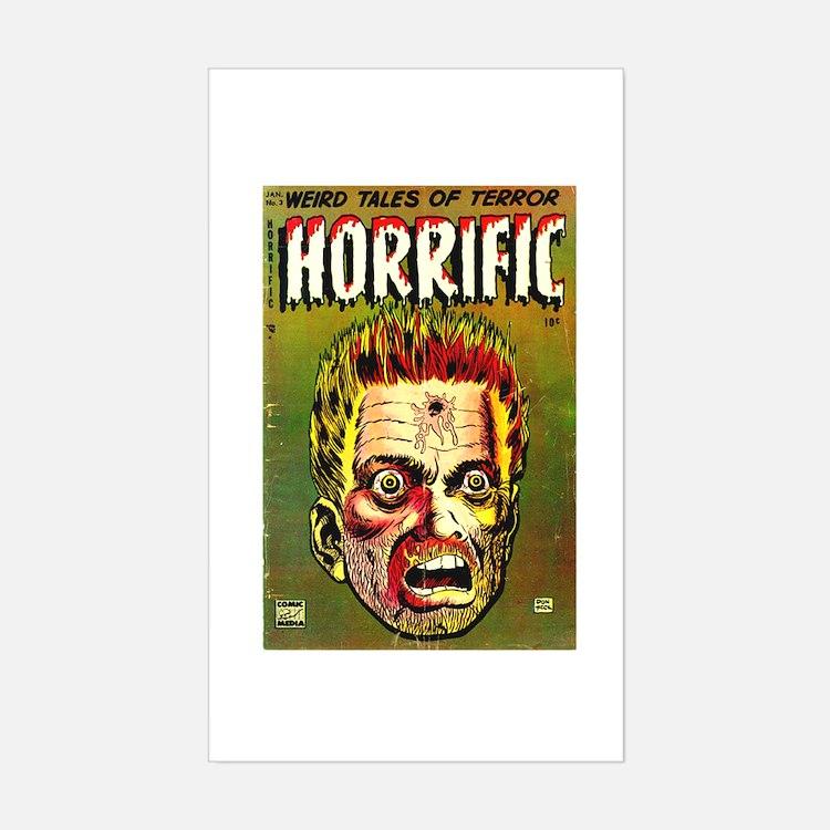 Horrific Sticker (Rectangle)