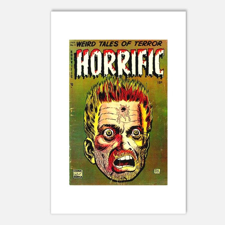 Horrific Postcards (Package of 8)