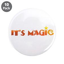 "IT'S MAGIC IX 3.5"" Button (10 pack)"