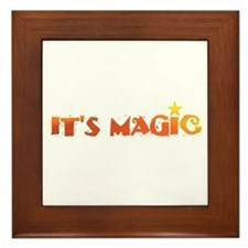 IT'S MAGIC IX Framed Tile