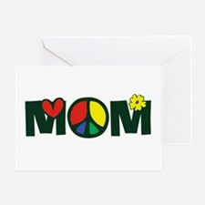 Peace Mom Greeting Card