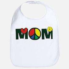 Peace Mom Bib