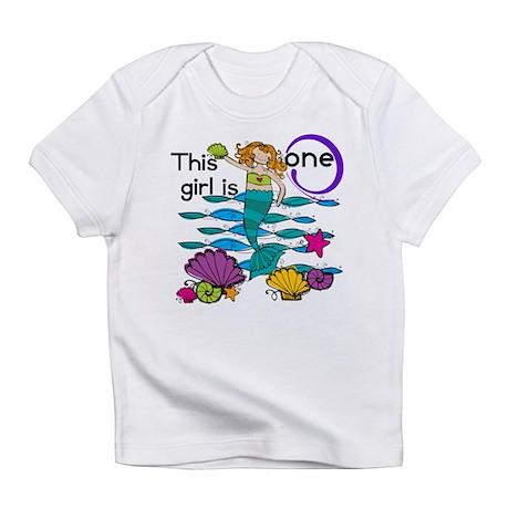 Mermaid 1st Birthday Infant T-Shirt