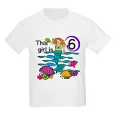 Hoot Owl 6th Birthday T-Shirt