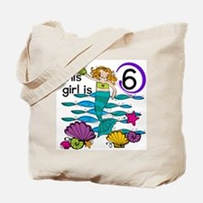 Hoot Owl 6th Birthday Tote Bag
