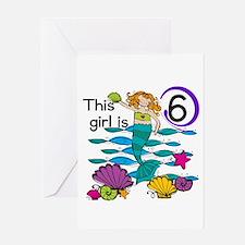 Hoot Owl 6th Birthday Greeting Card