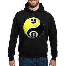8 Ball 9 Ball Yin Yang Hoodie