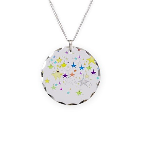 Starz Necklace Circle Charm