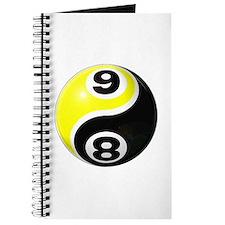 8 Ball 9 Ball Yin Yang Journal
